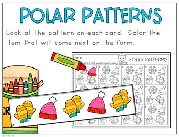 December Kindergarten Centers (Math and Literacy)