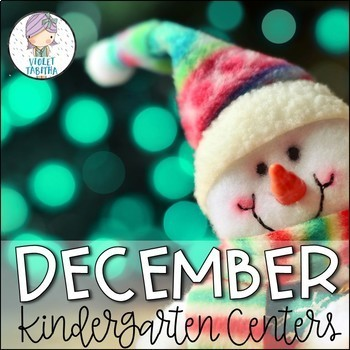 Winter Kindergarten Centers (Math and Literacy)