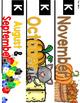 Kindergarten Centers Spine and Tub Labels