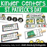 Kindergarten Centers {St. Patrick's Day Centers} Math and