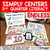 Kindergarten Centers - Third Quarter Simply Centers Bundle