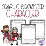 Kindergarten Character Graphic Organizer worksheets with L