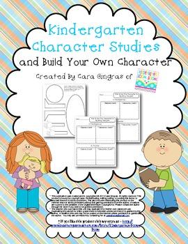 Kindergarten Character Studies - Common Core