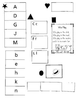 Kindergarten Check-in Assessment (2nd Quarter)