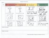 Kindergarten Child Friendly Narrative Rubric and Checklist