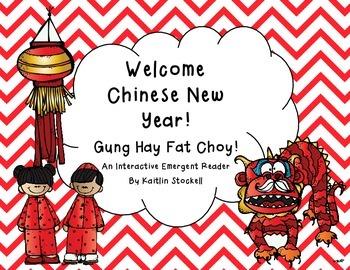 Kindergarten Chinese New Year Interactive Mini-Book