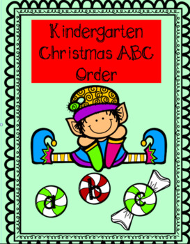 Kindergarten Christmas ABC Order