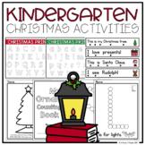 Kindergarten Christmas Activities
