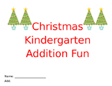 Kindergarten Christmas Addition Facts