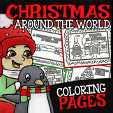 Christmas Around the World Coloring Pages ☆ Christmas Coloring Pages