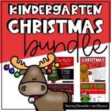 Kindergarten Christmas Bundle: Math and Literacy
