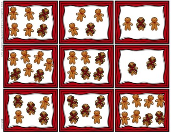 Kindergarten Christmas Centers for Math and Literacy