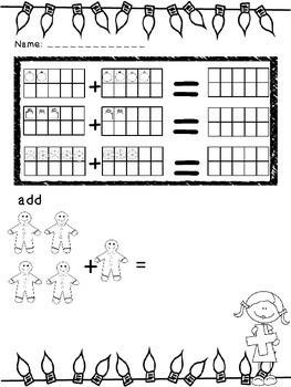 Kindergarten Christmas Fun Pack