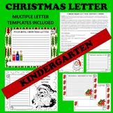 Kindergarten Christmas Holiday Letter Writing Activities