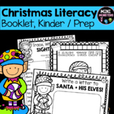 Kindergarten Christmas Literacy Worksheets