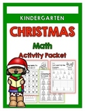 {Kindergarten} Christmas Math Activity Packet