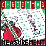 Kindergarten Christmas Math Center - Jolly Measurement