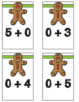 Kindergarten Christmas Math Centers