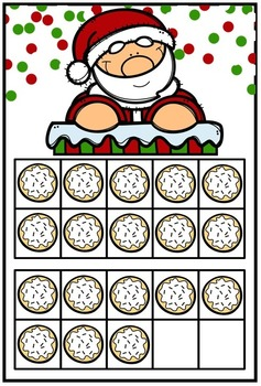 Kindergarten Christmas Math and Literacy Centers