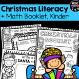 Kindergarten Christmas Math and Literacy Packet