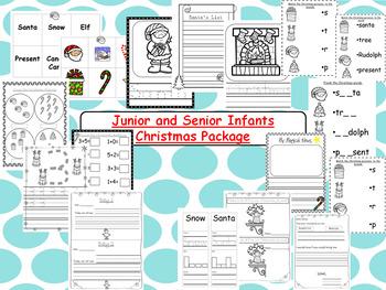 Kindergarten Christmas Package