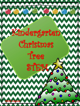 Kindergarten Christmas Tree STEM/STEAM