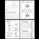 Kindergarten Cinco de Mayo Activities / Worksheets