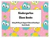Kindergarten Class Books