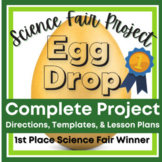 Kindergarten Class Science Fair Project - Egg Drop with 5 Day Lesson Plans