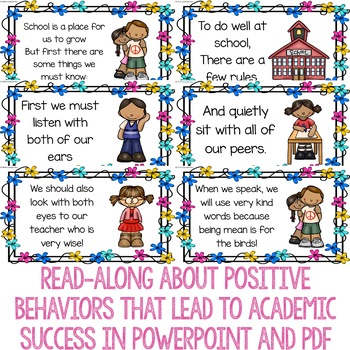 Academic Success Behaviors Classroom Guidance Lesson for Primary School