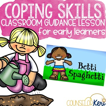 Coping Skills Classroom Guidance Lesson for Teaching Calming Strategies
