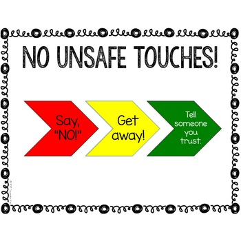 Classroom Guidance Counseling Lesson: Safe/Unsafe Touches