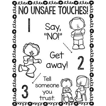Safe Touches and Unsafe Touches Classroom Guidance Lesson