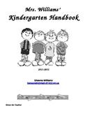 Kindergarten Classroom Handbook