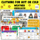 Kindergarten - Clothing for Season