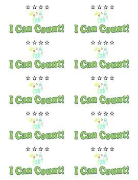 Kindergarten Club Cards- Math Skills Set *Common Core Aligned*