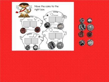 Kindergarten Coins Say What?