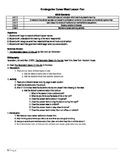 Kindergarten College and Career Lesson Plan