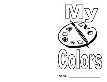 Kindergarten Color Book