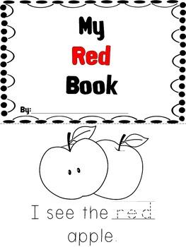 Kindergarten Color Book Bundle