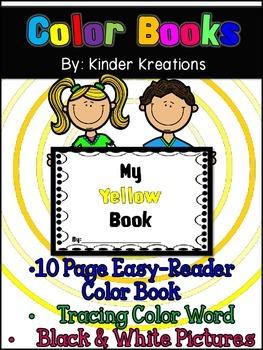 Kindergarten Color Book - Yellow