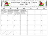 """Color My Day"" Behavior Calendar *Editable* (pairs with all clip charts!!!)"