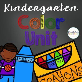 Kindergarten Color Unit