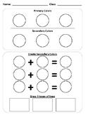 Kindergarten Color and Line Test
