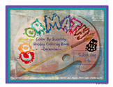 Kindergarten Coloring Book by Quantity 1-6 - December Holidays