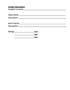Kindergarten Common Assessment Pack