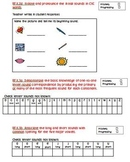 Kindergarten Common Core 2nd Quarter Assessment (includes student printables)