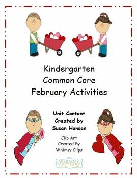 Kindergarten: February Activities