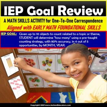 Kindergarten Common Core Aligned Math Center Activity for Back-To-School