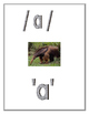 Kindergarten Common Core Alphabet Wall Cards